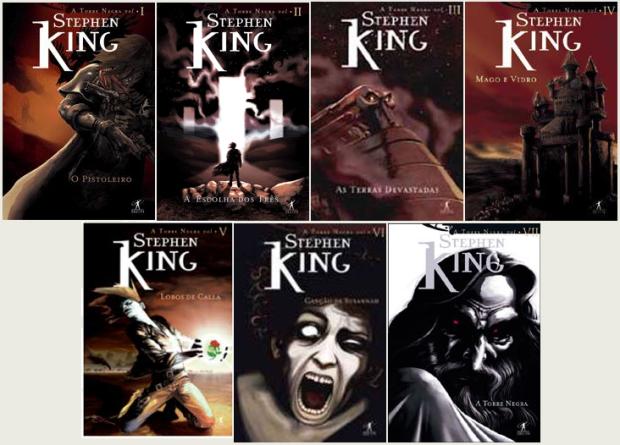 Todos os livros da série!