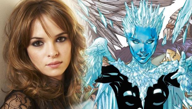 A atriz e a vilã nos quadrinhos!