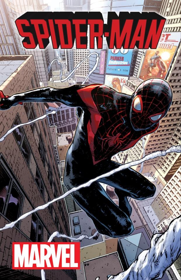 Capa da HQ do Homem - Aranha!